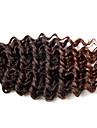 Hår till flätning Lockigt Virkad Stora vågor Lockiga flätor Hårförlängningar av äkta hår 100% kanekalon hår Kanekalon Hårflätor Dagligen