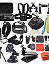 Tillbehörs Kit Vattentät 42 i 1 42 pcs För Actionkamera Gopro 6 Gopro 5 Xiaomi Kamera Gopro 4 Gopro 4 Silver Dykning Surfing Jakt och Fiske Plast Nylon EVA / Gopro 1 / Gopro 2 / Gopro 3 / Gopro 3+