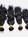4 paket Peruanskt hår Naturligt vågigt Obehandlad hår Human Hår vävar 8-28 tum Hårförlängning av äkta hår Människohår förlängningar / 10A