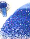 1st Puder / Glitterpulver / Nail Glitter Glitter och glans / Laser Holografisk Nail Art Design