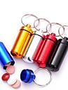 Aluminium Alloy Travel Pill Box/Case Waterproof Portable Travel Accessories for Emergency Travel Storage Ultra Light(UL) Mini Size