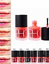1 pcs Vardagsmakeup Sminkredskap Flytande Lip-stains Fuktig / Mineral Vattentät / Torkar snabbt / Långvarig Smink Kosmetisk Dagligen Skötselprodukter