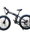 Hopfällbar Cykel / Snöcykel Cykelsport 21 Hastighet 26 tum / 700CC 40 mm SHIMANO 51-7 Dubbel skivbroms Springergaffel Bakhjulsupphängning Vanlig Aluminiumlegering