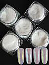 5pcs Glitter Till nagel konst manikyr Pedikyr Klassisk Dagligen