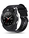V8 Smartwatch BT Fitness Tracker Support Notify/ Heart Rate Monitor Sports Smart watch for Samsung/ Iphone/ Android Phones