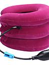 Huvud och nacke Hals Massage apparat Manual Nackmassagesapparat Lufttryck Uppblåst Lindra smärta i nacke och skuldror Nackstöd Bärbar