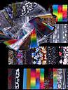 48 pcs Nail Foil Striping Tape nagel konst manikyr Pedikyr Mode Dagligen / Foliebandspapp