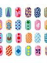 10 pcs Stämpelplatta Mall Moderiktig design nagel konst manikyr Pedikyr Stilig / Mode Dagligen / stämpling Plate