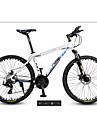 Mountainbikes Cykelsport 27 Hastighet 26 tum / 700CC MICROSHIFT 24 Dubbel skivbroms Suspension Fork Vanlig / Anti-halk Aluminium