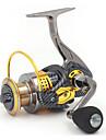 Fiskerulle Bearing Snurrande hjul 5.2:1 Växlingsförhållande+13 Kullager Hand Orientering utbytbar Färskvatten Fiske / Drag-fiske / Generellt fiske - GLC4000 / Trolling & Båt Fiske