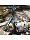Fiskerulle Bearing Snurrande hjul 5.2:1 Växlingsförhållande+11 Kullager Hand Orientering utbytbar Sjöfiske / Färskvatten Fiske / Drag-fiske - DK4000 / Generellt fiske / Trolling & Båt Fiske