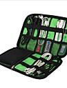 Travel Organizer / Bagageorganisatör / Vattentätt fodral Stor kapacitet / Bärbar / Packpåsar för Kläder / USB-kabel / Mobiltelefon Nylon 22.6*15.7*3.6 cm Resor