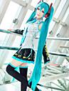 Vocaloid Miku Cosplay-peruker Dam Med 2 Ponytails 48 tum Värmebeständigt Fiber Anime peruk / Peruk / Peruk