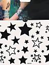 1 pcs tillfälliga tatueringar Säkerhet / Engångsvara Kropp / händer / brachium Vattenöverföringsklistermärke Tatueringsklistermärken / Tattoo Sticker