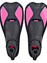 Dykning Fenor Simfenor Fleksibel Korta simfenor Justerbar rem Simmning Dykning Snorkelfenor Silikon - för Barn Gul Blå Rosa