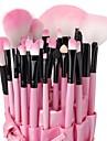 Professionell Makeupborstar Borstsatser 32pcs Hög kvalitet Sminkborstar för Ögonskuggor Concealer Puder Rodna Makeupväskor Foundationborste Läppensel
