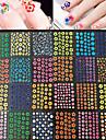 50pcs Annat Nail Stamping Mall Dagligen Mode