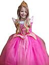 Prinsessa Cosplay Kostymer / Dräkter Barn Jul Barnens Dag Nyår Festival / högtid Polyester Ros Karnival Kostymer Glittrande glitter Spets