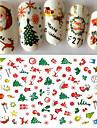 1 pcs Klistermärken & Tejpar Nail Decals Nail Art Design