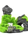 Akvarium Akvariedekorationer Fiskskål Ornament Stones Rock Outcrop Resin 11*5.5*9.5 cm
