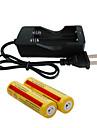 Batteriladdare batteri 4200 mAh för 18650 Uppladdningsbar Bärbar Snabbladdning England EU USA Camping / Fiske