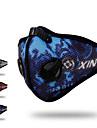XINTOWN Sport Mask Skyddsmask mot Förorening Andningsfunktion Begränsar bakterier Svettavvisande Cykel / Cykelsport Röd Blå Grå för Unisex Cykling / Cykel MC 1st / Elastisk