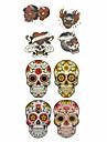 1 pcs Tatueringsklistermärken tillfälliga tatueringar Totemserier Vattentät Body art händer / arm / handled