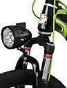 LED Cykellyktor Framlykta till cykel Framljus till cykel LED Bergscykling Cykel Cykelsport Vattentät Bärbar Varning Quick Release Litium Batteri USB Vit Vardagsanvändning Cykling Fiske - WEST BIKING®