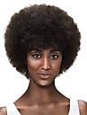 Syntetiska peruker Afro Afro Peruk Korta Svart Mörkbrun / Medium Rödbrun Syntetiskt hår Dam Afro-amerikansk peruk Svart