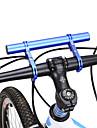 30 mm Förlängare till cykelstyre Justerbara 360-graders flygning Anti-Halk för Racercykel Mountain Bike Aluminum Alloy Krom Blå Svart Rubinrött