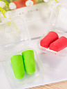 Ear Plugs Soft Travel Sponge Solid Colored Travel 2.5*1.2*1.2 cm