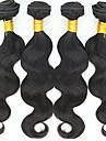 4 paket Indiskt hår Kroppsvågor Äkta hår Human Hår vävar 8-30 tum Hårförlängning av äkta hår Mode Människohår förlängningar / 8A