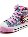 Flickor Komfort Kanvas Sneakers Lilla barn (4-7år) / Stora barn (7 år +) Mörkblå / Ljusblå Vår / EU37