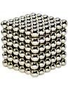64 pcs 6mm Magnetleksaker Magnetiskt block Magnetiska kulor Superstarka neodymmagneter Stresslindrande leksaker Klassisk Stress och ångest Relief Focus Toy Office Desk Leksaker GDS (Gör det själv)