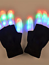 LED-belysning LED-handskar Fingerljus Jul Semester Belysning Fingertopp Vuxna Leksaker Present 2 pcs