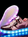 Flickor PU Sneakers Lilla barn (4-7år) / Stora barn (7 år +) Lysande skor LED Guld / Silver / Rosa Höst / Vinter / Fest / afton / TR (termoplast)