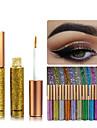 1 st regnbågsfärger ögonskugga glitter långvarig vattentät ögonskugga eyeliner smink