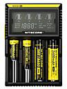 Nitecore D4 Batteriladdare utsläpps Säkrad krets Kortslutningsskydd Överladdningsskydd Camping / Vandring / Grottkrypning