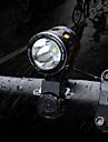 LED Cykellyktor Framlykta till cykel LED Bergscykling Cykel Cykelsport Vattentät Flera lägen Jätteljus Bärbar Litium Batteri 1000 lm Uppladdningsbart Batteri Vit Camping / Vandring / Grottkrypning