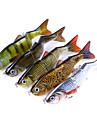 1 pcs Fiskbete Hårt bete Flytande Bass Forell Gädda Sjöfiske Flugfiske Kastfiske Plast / Spinnfiske / Jiggfiske / Färskvatten Fiske / Karpfiske / Abborr-fiske