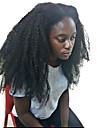 Äkta hår Helnät utan lim Hel-spets Peruk stil Brasilianskt hår Lockigt Kinky Curly Peruk 150% Hårtäthet med babyhår Naturlig hårlinje limfria Dam Mellan Äkta peruker med hätta MEODI / Sexigt Lockigt