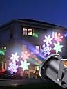U\'King LED Scenljus Auto 4 W för Utomhus / Fest / Scen Jul / Professionell / Snöflinga