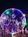 3M 18Inch LED-belysning Ballonger LED-ballonger Semester Romantik Födelsedag Belysning Påfyllningsbara Självlysande Barn Vuxna Pojkar Flickor Leksaker Present 1-15 pcs / Ny Design