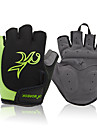 Bike Gloves / Cycling Gloves Mountain Bike Gloves Mountain Bike MTB Road Bike Cycling Breathable Anti-Slip Sweat-wicking Protective Fingerless Gloves Half Finger Sports Gloves Dark Grey Green Blue for