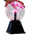 LED-belysning Plasmabollar Utbildningsleksak med Ljudsensor Stor storlek Barn Pojkar Flickor Leksaker Present 1 pcs