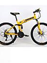 Mountainbikes / Hopfällbar Cykel Cykelsport 21 Hastighet 26 tum / 700CC Dubbel skivbroms Springergaffel Monocoque / Hardtail-ram Vanlig Aluminiumlegering / Stål / Aluminium