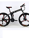 Mountainbikes / Hopfällbar Cykel Cykelsport 21 Hastighet 26 tum / 700CC Shimano Dubbel skivbroms Suspension Fork Bakhjulsupphängning Vanlig Aluminiumlegering / Stål