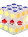 Magic Cube IQ-kub Alien 3*3*3 Mjuk hastighetskub Rubiks kuber Pusselkub Stress och ångest Relief Office Desk Leksaker Lindrar ADD, ADHD, ångest, autism Klassisker Tema Platser Barn Vuxna Leksaker