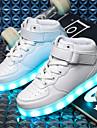 Pojkar Lysande sulor / Lysande skor PU Sneakers Lilla barn (4-7år) / Stora barn (7 år +) LED Svart / Blå / Rosa Höst / Vinter / TR (termoplast)