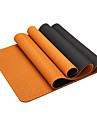 Yoga Matta Luktfri Miljövänlig Klistrig Ogiftig TPE Vattentät Snabb tork Non Slip För Yoga Pilates Motion & Fitness Purpur Orange Grön